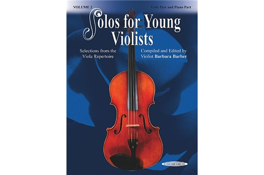 2211B10, Solos for Young Violists 2, Bar