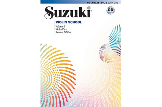 2111B3, Violin School 5 Revised w/CD, Su