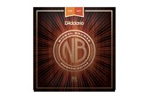 D'addario NB1047 Nickel Bronze Extra Light Acoustic Guitar Strings, .010-.047