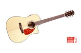Fender CD 280SCE Dreadnought Cutaway Acoustic-Electric Guitar (Natural)