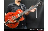 Godin 5th Avenue Uptown GT Guitar with Bigsby (Trans Red)