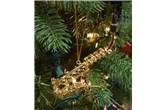 Broadway Gifts Gold Alto Saxophone Ornament