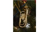 Broadway Gifts Gold Tuba Ornament