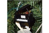 Broadway Gifts Black Grand Piano Ornament