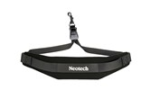 Neotech Soft Sax Saxophone Neck Strap with Swivel Hook (Black)