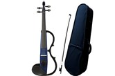 Yamaha SV130 Silent Violin Bundle With Case And Bow (Navy Blue)