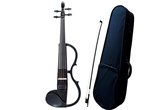 Yamaha SV130 Silent Violin Bundle With Case And Bow (Black)
