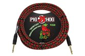 Pig Hog 20ft Guitar / Instrument Cable - Tour Grade (Tartan Plaid)