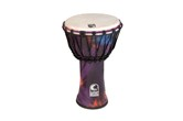"Toca 7"" Freestyle Rope Tuned Djembe (Woodstock Purple)"