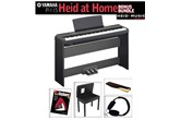 Yamaha P-115 Heid at Home Digital Piano Bonus Pack