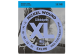 D'Addario EXL116 Nickel Wound Electric Guitar Strings, Medium Top/Heavy Bottom, 11-52
