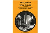 First Solos for the Viola Player