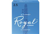 Rico Royal Clarinet Reeds Strength 2.5 (Box of 10)