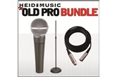 The Old Pro Mic Bundle - Shure SM58, stand, & cable