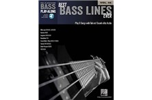 Bass Play-along best bass lines ever Heid Music