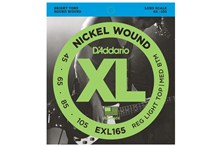 D'Addario EXL165 Bass Strings front