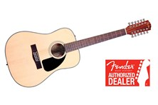 Fender CD-100 12 String Acoustic Guitar Heid Music
