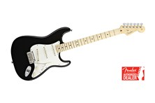 Fender American Standard Strat Stratocaster Black with Maple fretboard