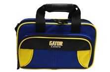 Gator Clarinet Case Yellow and Blue