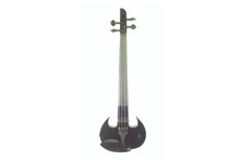 WOOD VIOLINS STINGRAY SVX4 4-STRING ELECTRIC VIOLIN Black front