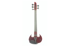 WOOD VIOLINS STINGRAY SVX5 5-STRING ELECTRIC VIOLIN Red front
