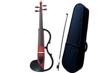 Yamaha SV-130 Silent Violin Brown Bundle heidmusic