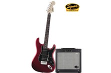 Squier by Fender Strat HSS Pack w/G-DEC Amp