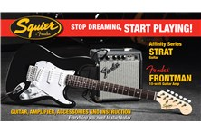 Fender Strat Pack Guitar Bundle