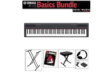 Yamaha P115 Keybaord Basics Bundle