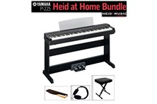 Yamaha P-255 Heid at Home Digital Piano Bundle