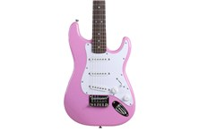 fender squier mini stratocaster pink body