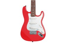 fender squier mini stratocaster red body