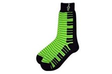 Ladies neon green socks