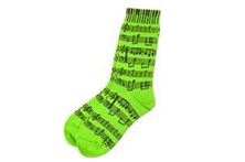 Ladies Socks Neon Green