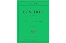 2311A3, Concerto in d minor Cello, Lalo,