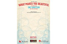 One Direction - What Makes You Beautiful Piano / Vocal / Guitar Sheet Music