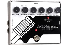 Electro-Harmonix White Finger Analog Optical Compressor Pedal Heid Music