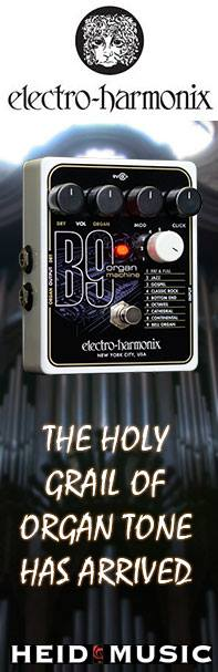 Electro-Harmonix B9 Organ Guitar Effects Pedals are new to heidmusic.com!