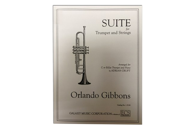 gibbons suite for trumpet and strings