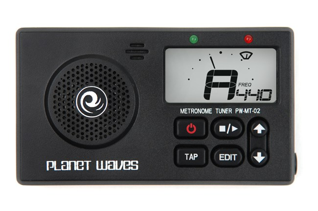 Planet Waves PW-MT-02 Metronome Tuner for electric and acoustic guitar.