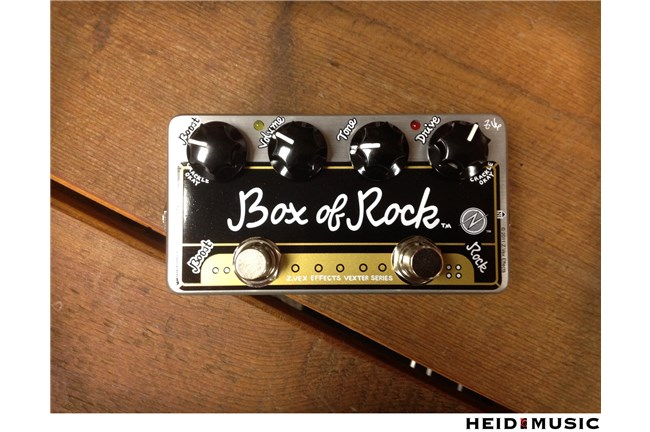 ZVex Hand Painted Box of Rock Pedal Heid Music