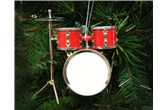 Broadway Gifts Red Drum Set Ornament