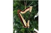 Broadway Gifts Harp Ornament