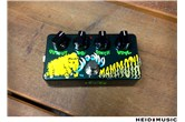 Z.Vex Wooly Mammoth Hand Painted Bass Fuzz Pedal