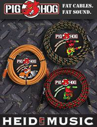 Pig Hog Cables are now on sale at heidmusic.com!
