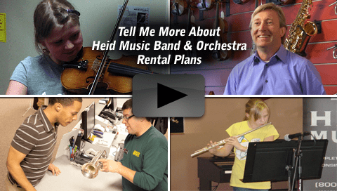 Best Band and Orchestra Rentals in Wisconsin