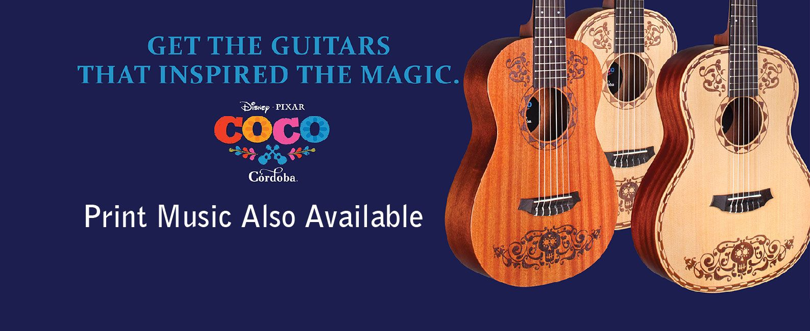 Coco Guitars at Heid Music
