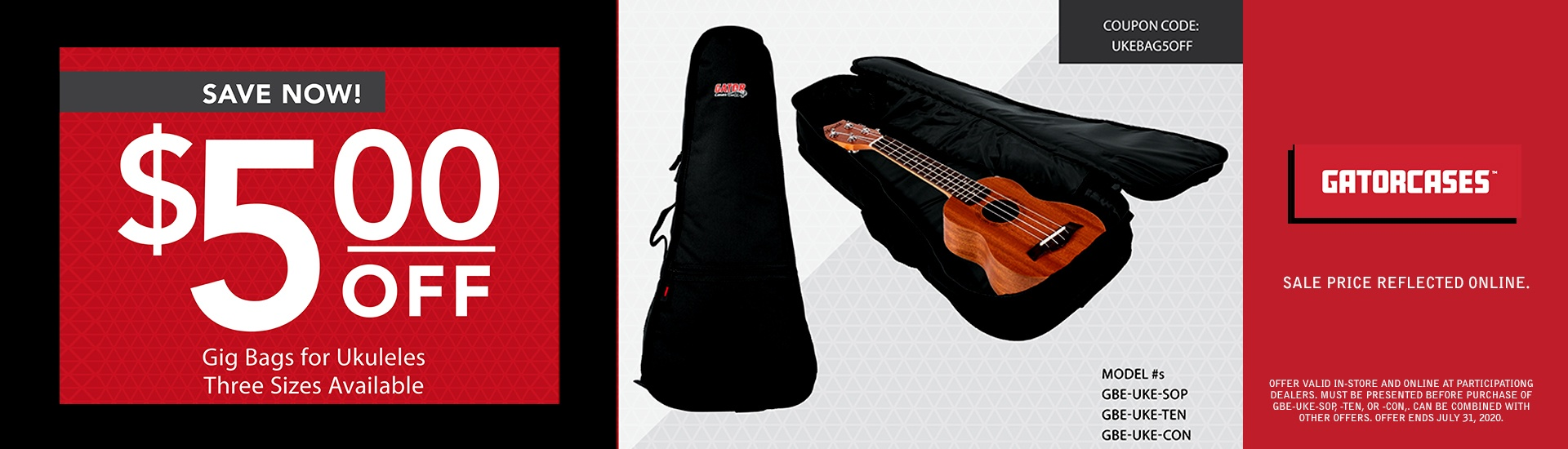 Ukulele cases on sale