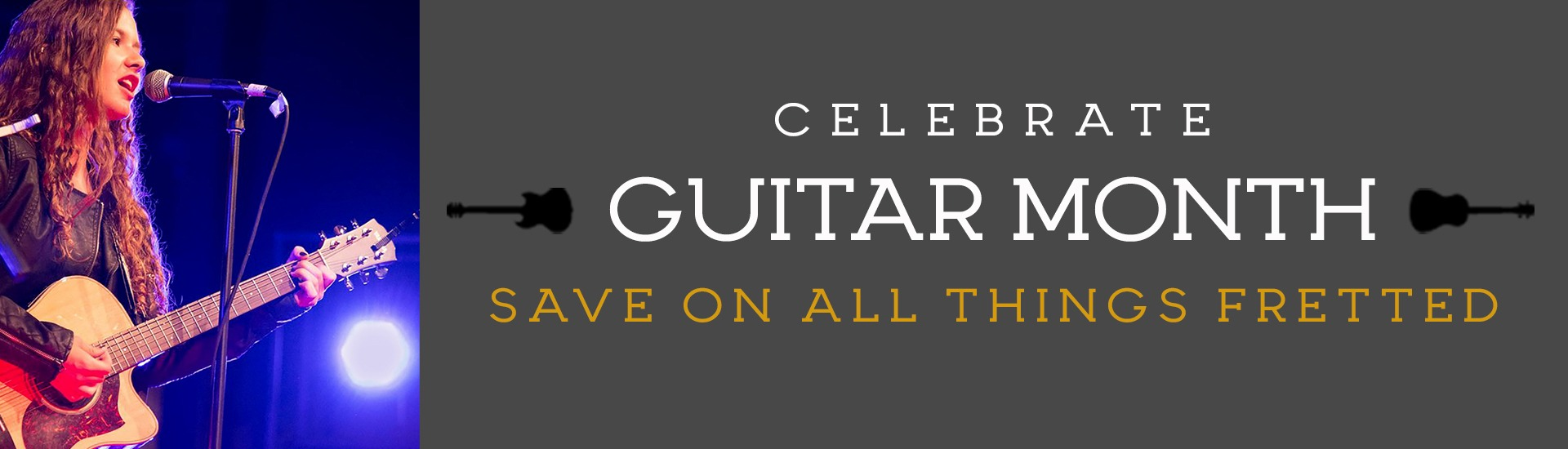 Guitar Month celebration specials and events