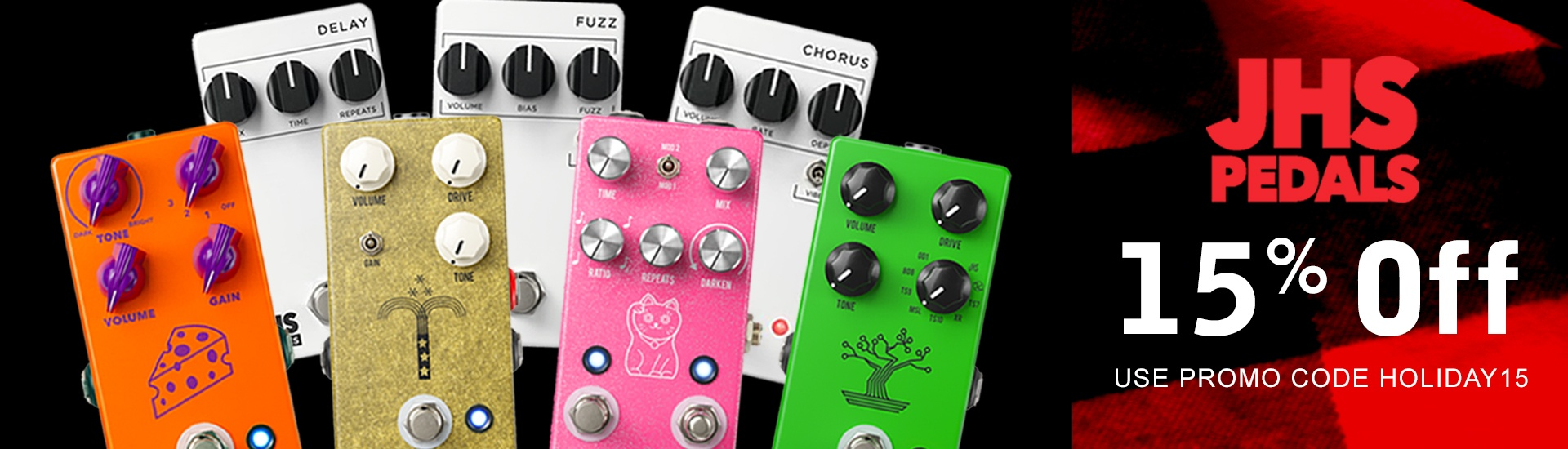 JHS pedals on sale